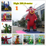 20ft 6M Inflatable Advertising Promotion Giant Monsters Gorilla Buddy